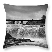 Falls Of The Big Sioux Throw Pillow