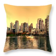 False Creek Triptych Centre Panel Throw Pillow