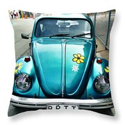 False Eyelashes Throw Pillow