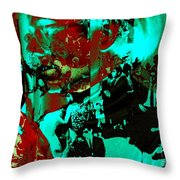 Famed For Its Groundbreaking Parties Throw Pillow