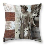 Famiglia Cavaliere Del Francesco Canti Memorial Marker Throw Pillow