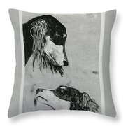 Family Affair Throw Pillow
