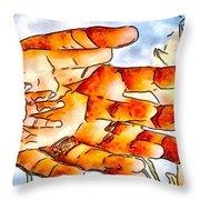 Family Throw Pillow