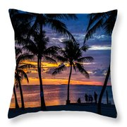Family Journey Into The Night Throw Pillow