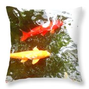 Family Members 7 Throw Pillow