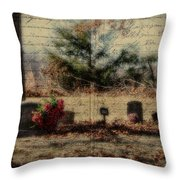 Family Plot Orton Style Throw Pillow