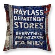 Family Store Throw Pillow
