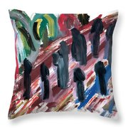 Famine Throw Pillow