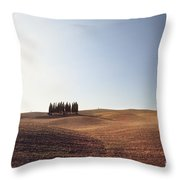 Famous Cypress Grove In Tuscany Throw Pillow