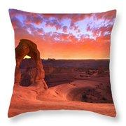 Famous Sunset Throw Pillow