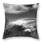 Fan Fawr Brecon Beacons 1 Mono Throw Pillow
