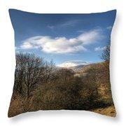 Fan Fawr Brecon Beacons 2 Throw Pillow