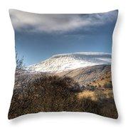 Fan Fawr Brecon Beacons 3 Throw Pillow