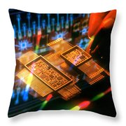 Fancy Design Throw Pillow by Jerry McElroy