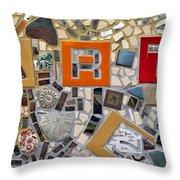 Fancy Mosaic Throw Pillow