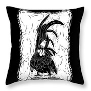 Fancy Tail Throw Pillow
