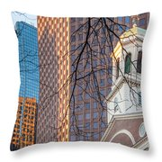 Faneuil Hall Cupola Throw Pillow