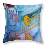 Fanfare Throw Pillow