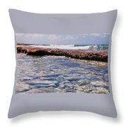 A Scene From Fanning Island # 2 Throw Pillow
