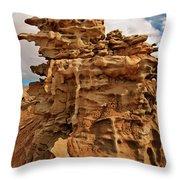 Fantastic Hoodoo Fantasy Canyon Utah United States Throw Pillow