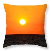Fantastic Sunset Throw Pillow