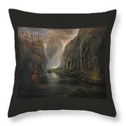 Fantasy 2 The Mystery Of A Dream Throw Pillow