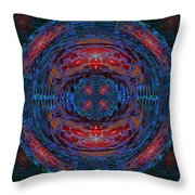 Fantasy Art Future Cosmic Discoveries Biological Planets N Galaxies Recreating N Multiplying Backgro Throw Pillow