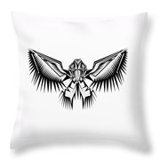 Fantasy Bird  Throw Pillow