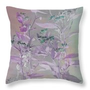 Fantasy By The Pond Throw Pillow