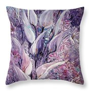 Fantasy Callas Throw Pillow