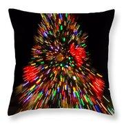 Fantasy Christmas Tree Throw Pillow