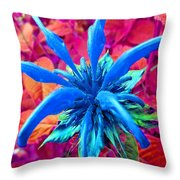 Fantasy Flower 1 Throw Pillow