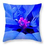 Fantasy Flower 11 Throw Pillow