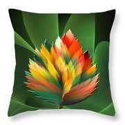 Fantasy Flower 2 Throw Pillow
