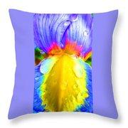 Fantasy Flower 4 Throw Pillow