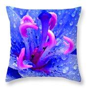 Fantasy Flower 6 Throw Pillow