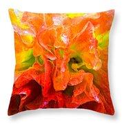 Fantasy Flower 7 Throw Pillow