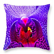 Fantasy Flower 8 Throw Pillow