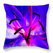 Fantasy Flower 9 Throw Pillow