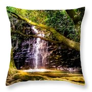 Fantasy Forest Throw Pillow by Karen Wiles
