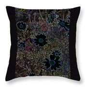 Fantasy Garden No. 2 Throw Pillow