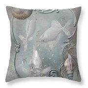 Fantasy Ocean 2 Throw Pillow
