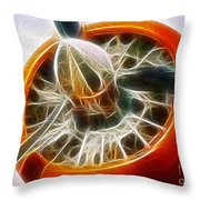 Fantasy Plane Throw Pillow by Paul Ward