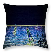 Fantasy Throw Pillow by Sotiris Filippou