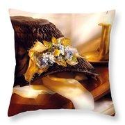 Fantasy - The Widows Bonnet  Throw Pillow