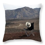 Far As My Eyes Can See Throw Pillow
