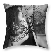 Far Eyes  Throw Pillow