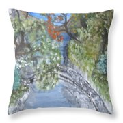 Far Off Place Throw Pillow
