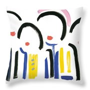 Farewell Viet Nam Throw Pillow