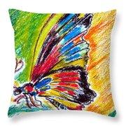 Farfalla Throw Pillow